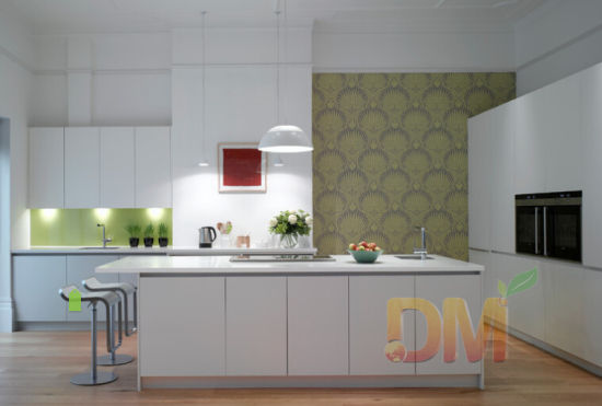 Large Kitchen Designs White Bright Interior Cabinets China Made In Com