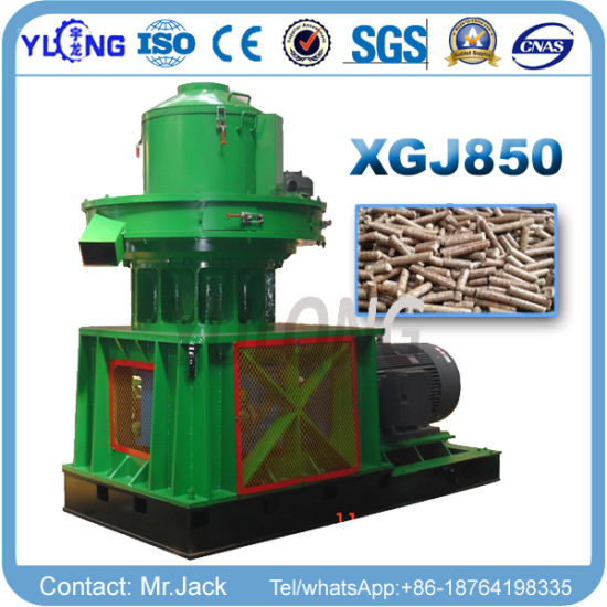 3ton/Hour Vertical Ring Die Type Efb Pellet Machine pictures & photos