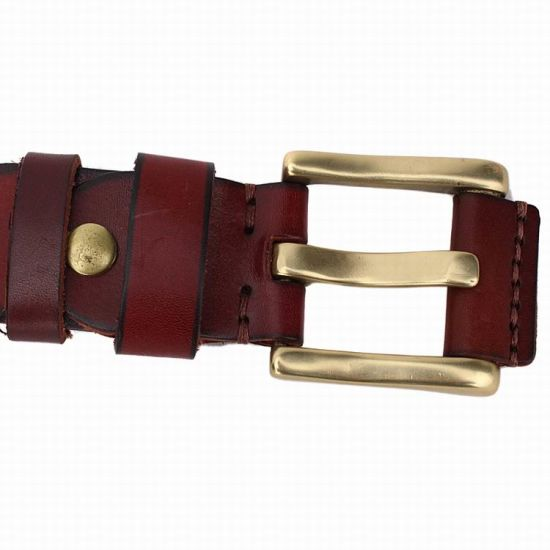 High Quality Real Leather Man′s Cowhide Leather Belt (RS-131258) pictures & photos