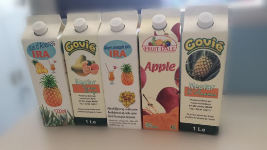 1 L Fresh Juice Gable Top Carton pictures & photos