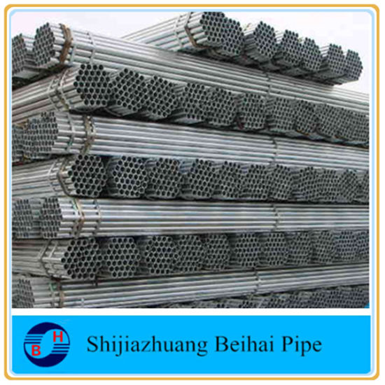 Hot DIP Galvanized Steel Pipe Sch40 pictures & photos