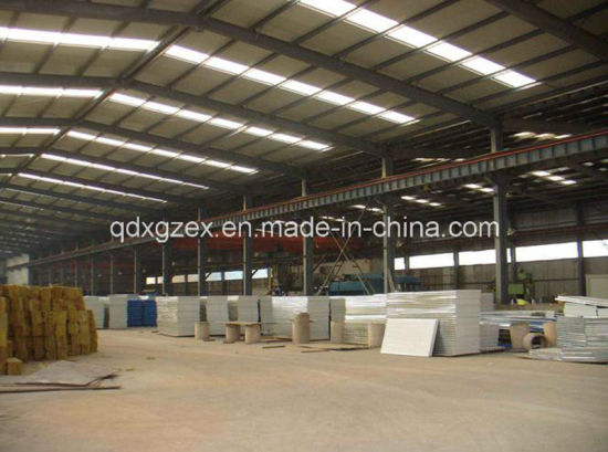 Fast Assembly Steel Fabrication Workshop Shed (SSW-567)