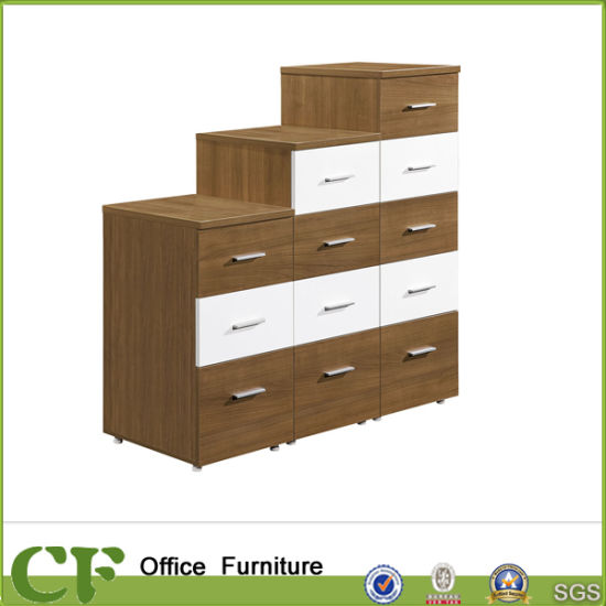 Drawers Combination Wooden Cabinet For Office Storage Cf Ca229