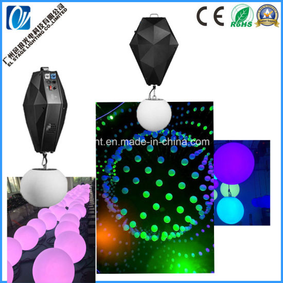 Stage LED Kinetic Light Wigh DMX LED Lifting Ball for DJ/Event Disco Light