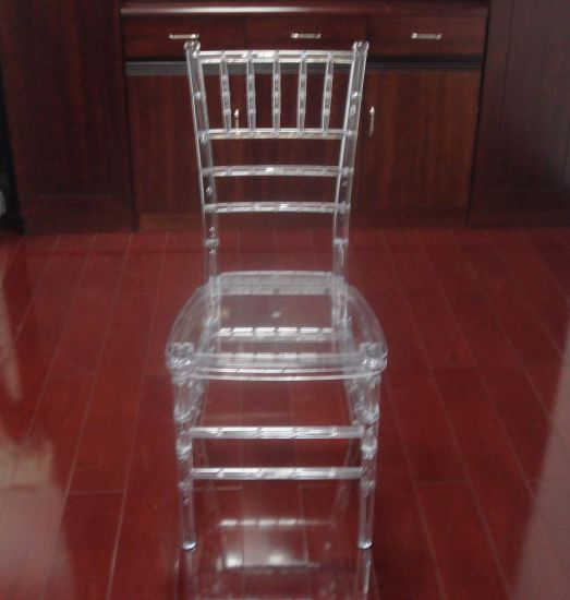 Crystal Clear Resin Tiffany Chair for Event