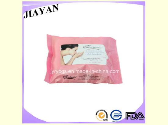 Customer Customized Brand 25PCS Female Wet Wipes (JY0510)