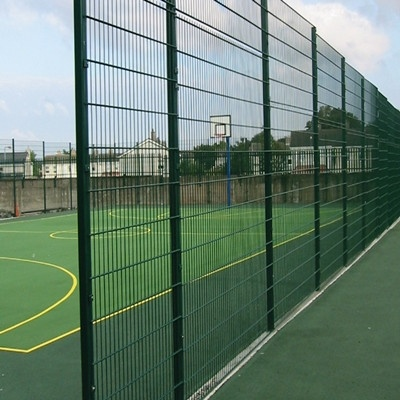 Parameter fence / welded wire mesh/Stadium Fence for school playground