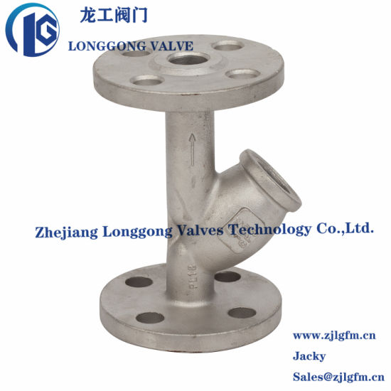 Low Wax Cast Y Strainer Casting Valve Body pictures & photos