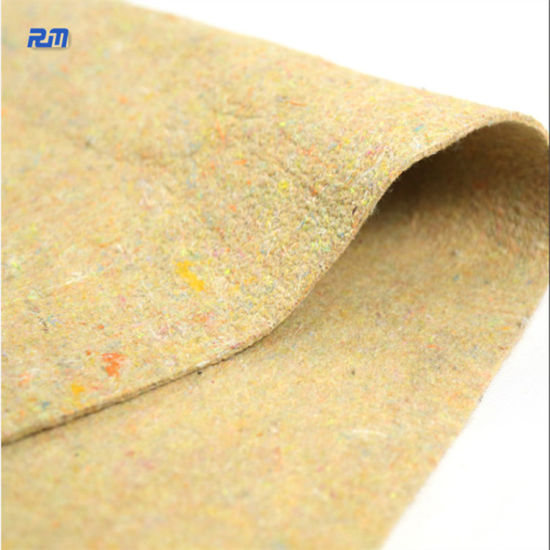 Multi Color Recycled Cotton Recycle Mattress Felt Wadding Moving Pads pictures & photos