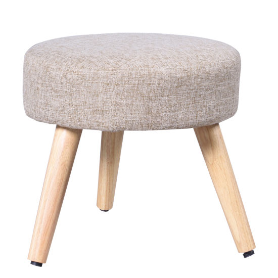 Small Size Three Legs Wooden Round