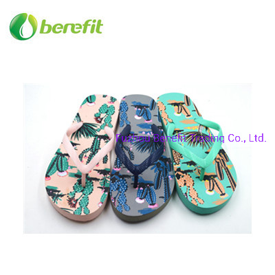 Rubber Sole and Straps Women Slippers