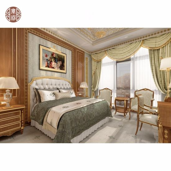 Customized Bedroom Hotel Furniture for 5 Star Project by Bowson Manufacturer