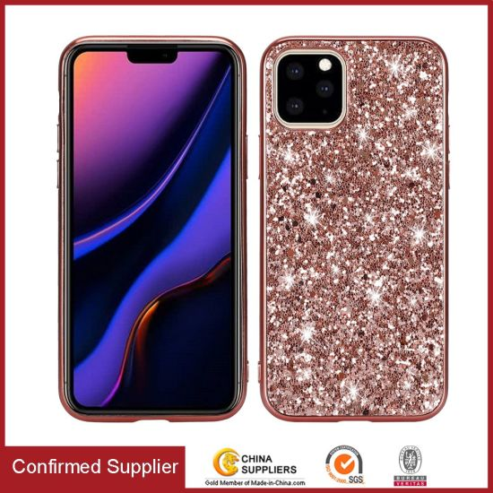 Bling Bling Glitter Cell Phone Case for iPhone 11 Phone Accessories 2020
