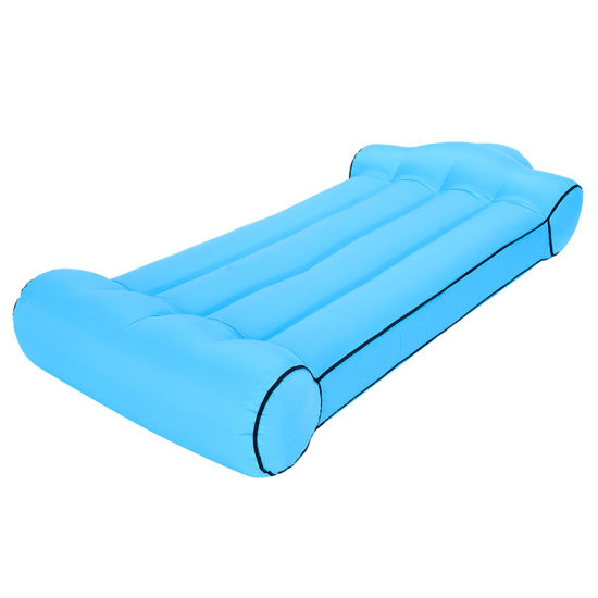 Lazy Inflatable Sofa Portable Beach Foldable Air Sofa Bed pictures & photos