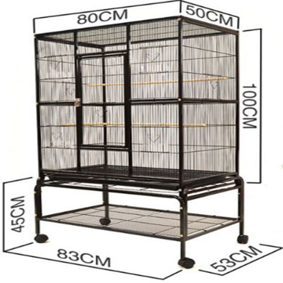 Wholesale Cage and Aviary High Quality Wire Mesh Canary Breeding Bird Cage Pet Bird Cage