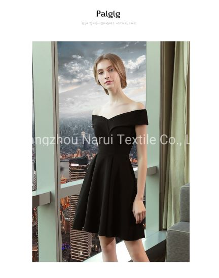 Hot Sale Plunging Neckline Sweet Ladies Evening Dress 1329#