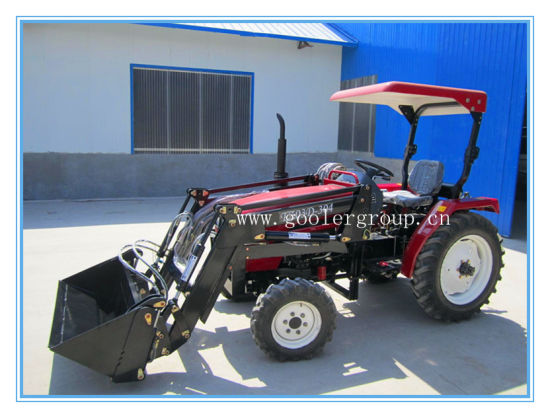 China Lz284, 28HP, 4WD Small Garden Tractors Fit with 4in1