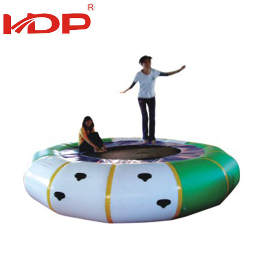 Customized Neverland Toys Floating Air Bouncer Inflatable Water Trampoline pictures & photos