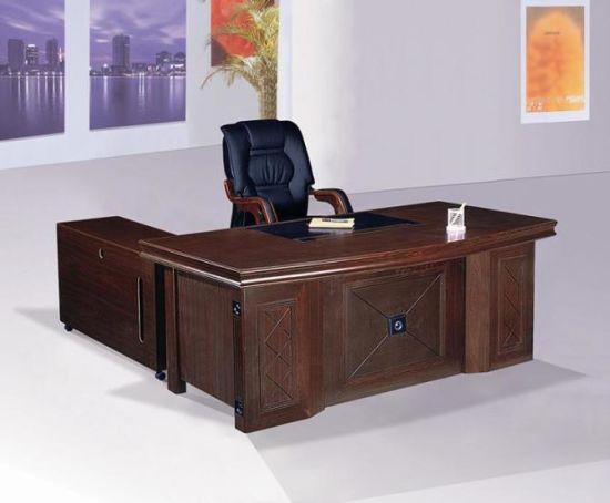Professional Office Furniture Half Round European Style Semi Circle 100 Mdf Executive Desk Fec38