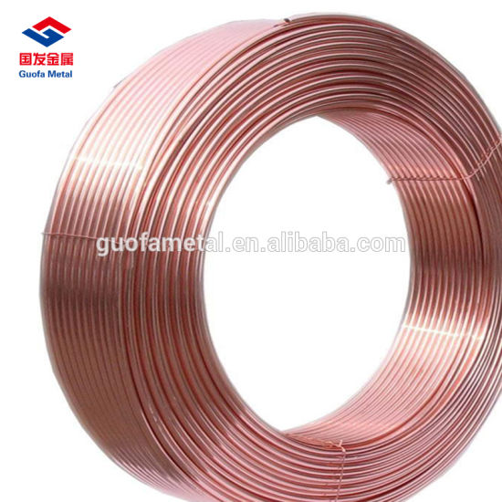 China Lwc Air Condition Seamless Copper Pipe - China Pipe, Copper Pipe
