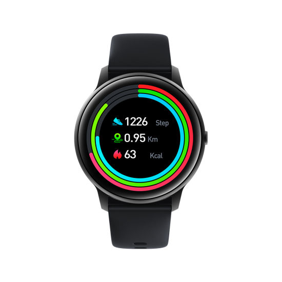 """2020 New Smart Watch Full Touch Screen Kw66 1.28"""" TFT 24 Hour Heart Rate Monitor 30 Days Standby Waterproof IP68 BLE5.0 Fitness Smart Bracelet"""