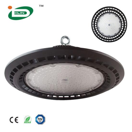 Die-Casting Distributor Industrial LED High Bay Light Super Bright 50W 100W 150W 200W UFO LED High Bay Lighting for Garage