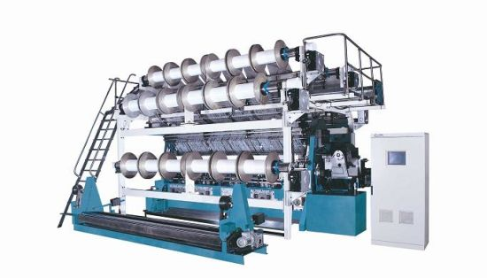 Double Needle Bar Warp Knitting Machine (RDJ 6/2)