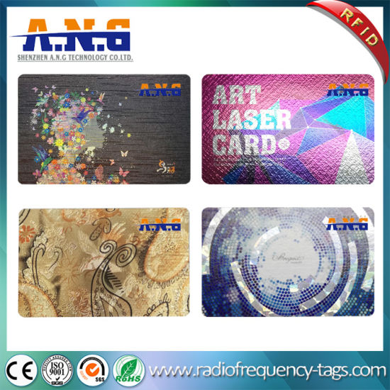 Customized Logo Printing Contactless IC & RFID Smart Cards Manufacturer