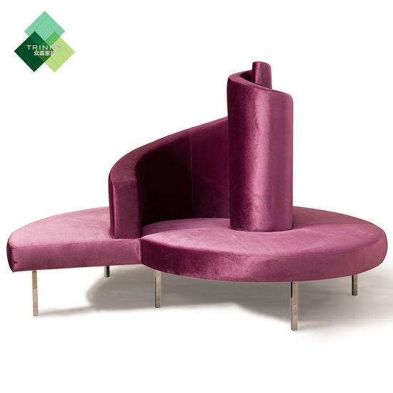 Fine China Hot Sale Modern Design Lobby Round Sofa China Living Creativecarmelina Interior Chair Design Creativecarmelinacom
