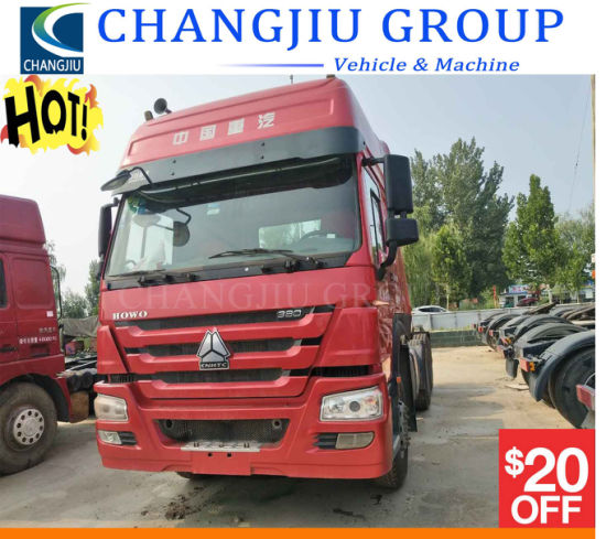 Used HOWO Tractor Truck LHD Rhd Sinotruck HOWO 6X4, 4X2 336HP, 371HP, 420HP Heavy Duty Used Tractor Truck Tractor Head for Africa Market