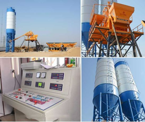 China Saudi Arabia 35m3/H Construction Machine Concrete