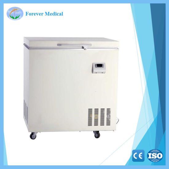 Horizontal Laboratory Medical Used -86 Degree Deep Freezer