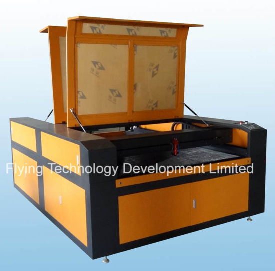 Wood Fabric Leather Acrylic Cutting Machine with CO2 Laser Flc1520 pictures & photos