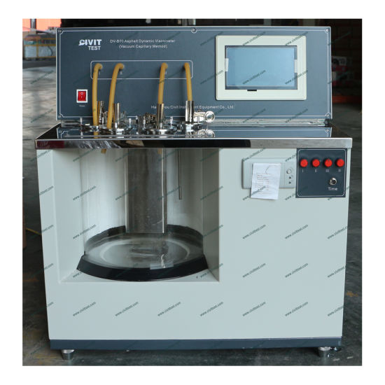 Bitumen Petroleum Dynamic Viscometer Tester Test Machine