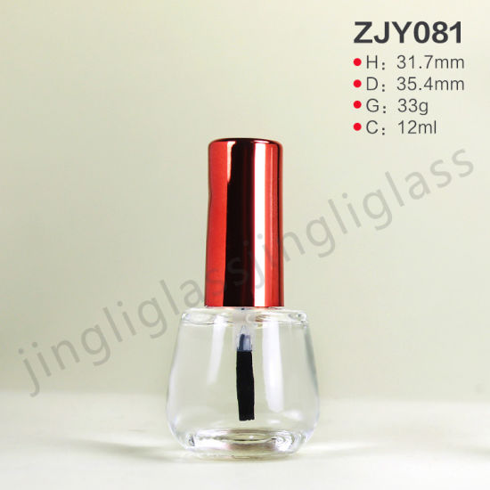 Simple Style 12ml Nail Polish Bottle with Cap pictures & photos