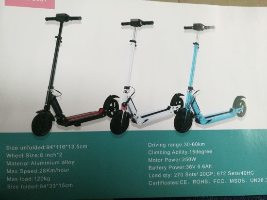 Folding Scooter pictures & photos