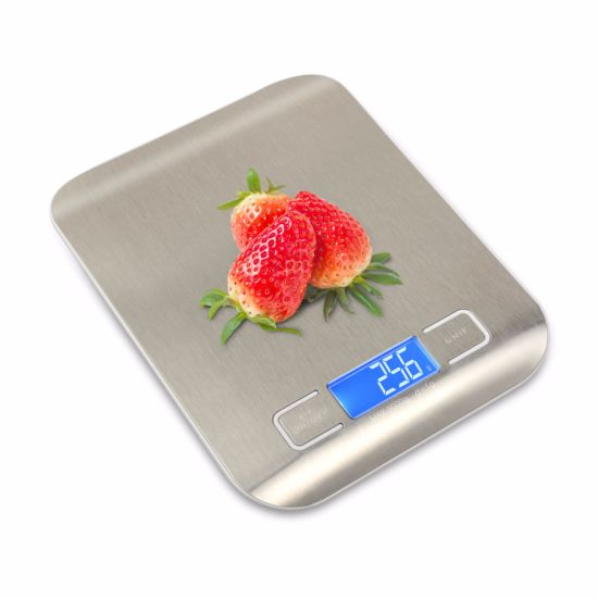 5kg Digital Weighing Postal Electronic LCD Kitchen Stainless Household Scale