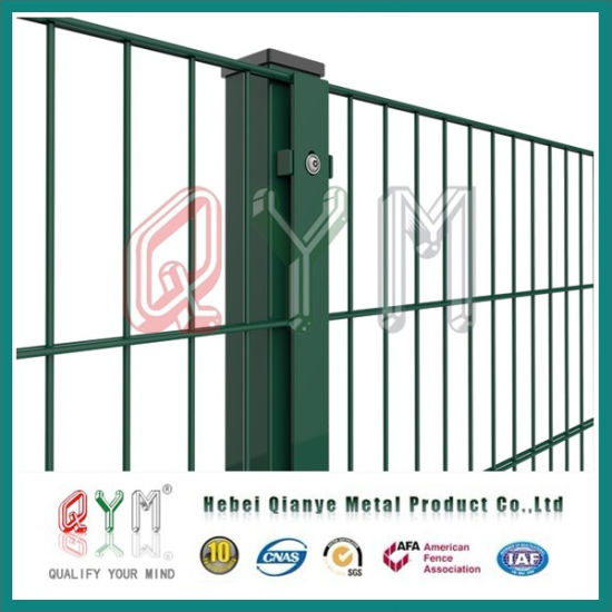 China Perimeter Fencing/ Green Vinyl Coated Welded Wire Mesh Fence ...