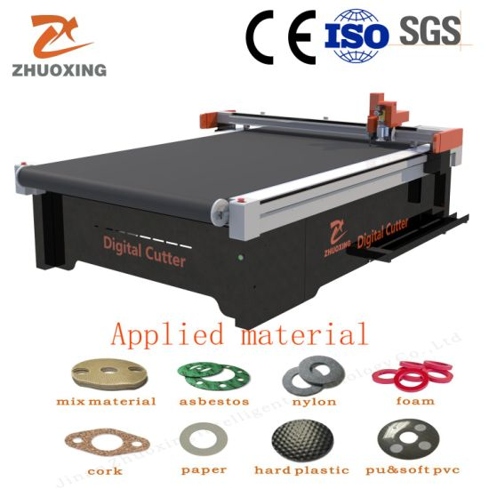 Automatic Dieless Cork Gasket Cutting Machine with Ce Automatic CNC Cutting Equipment Factory Price