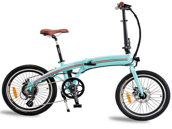 China 36V 250W LCD Displayer Hidden Battery Fold Mini Utility Vehicle Foldable E Bicycle Bike E-Bicycle Folding Electric Bicycle