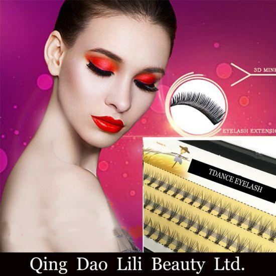 cb0564462af Lili Beauty Volume Eyelash 8mm 12mm Individual False Cluster Eye Lash  Extension Private Label Tray Kit