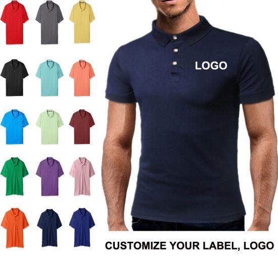 6cd06c6ef69 High Quality Wholesale Custom 100% Cotton Pique Men Polo T Shirt Design  Your Logo