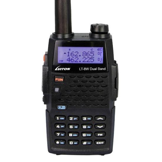 7 Watt High Ouput Dual Band Radio Lt-8W Long Range Walkie Talkie