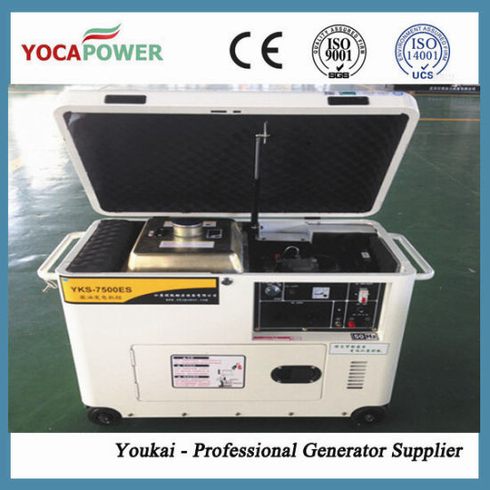 5.5kw Single Phase Small Power Silent Diesel Generator Set pictures & photos