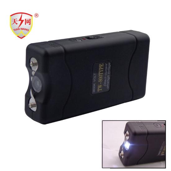 Mini High Voltage Stun Guns with Shock Device (TW-800)
