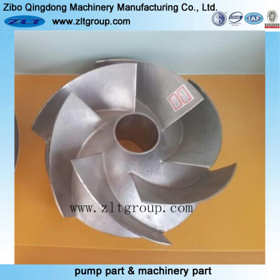 Investment Casting Carbon Steel/Alloy Steel /Titanium/Stainless Steel Pump Parts pictures & photos