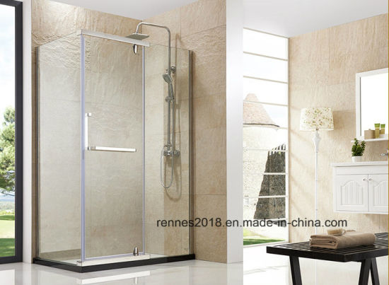 Stainless Steel 8mm Tempered Glass Shower Enclosure Shower Room Simple Shower Enclosure Factory pictures & photos
