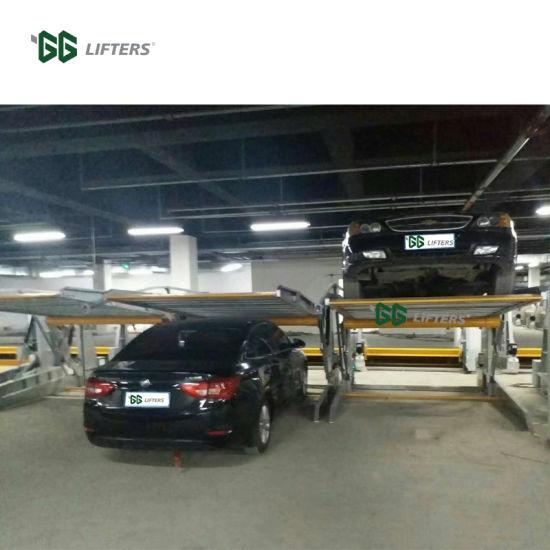 Hydraulic Tilting Parking Lift 2 Post Tilt Car Lifts for Home Garage