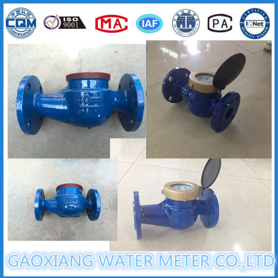 Multi-Jet Vane Wheel Residential Water Meter From Manufacturer pictures & photos