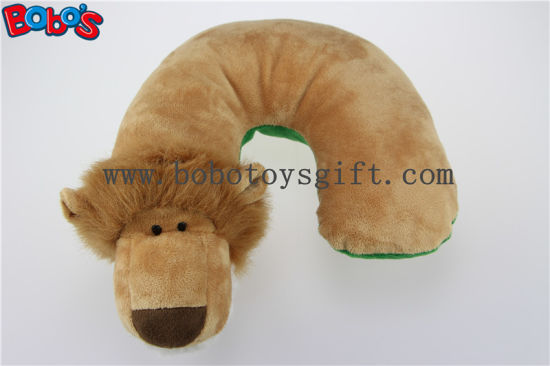 Cute Animal U-Type Neck Travel Plush Pillow Monkey Stuffed Neck Support pictures & photos